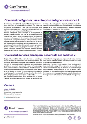 Article Hypercroissance