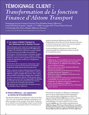 Grant Thornton France ALSTOM TRANSPORT