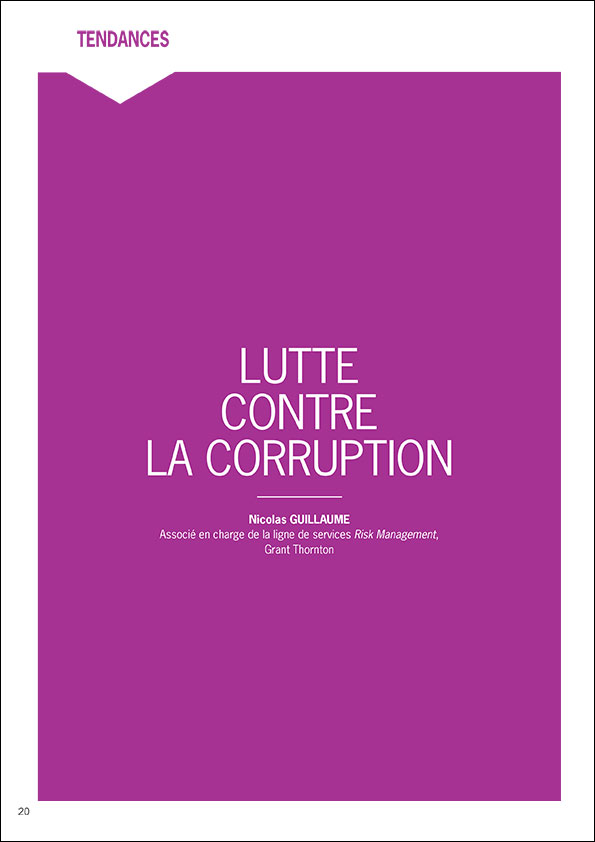 Grant Thornton France LUTTE CONTRE LA CORRUPTION